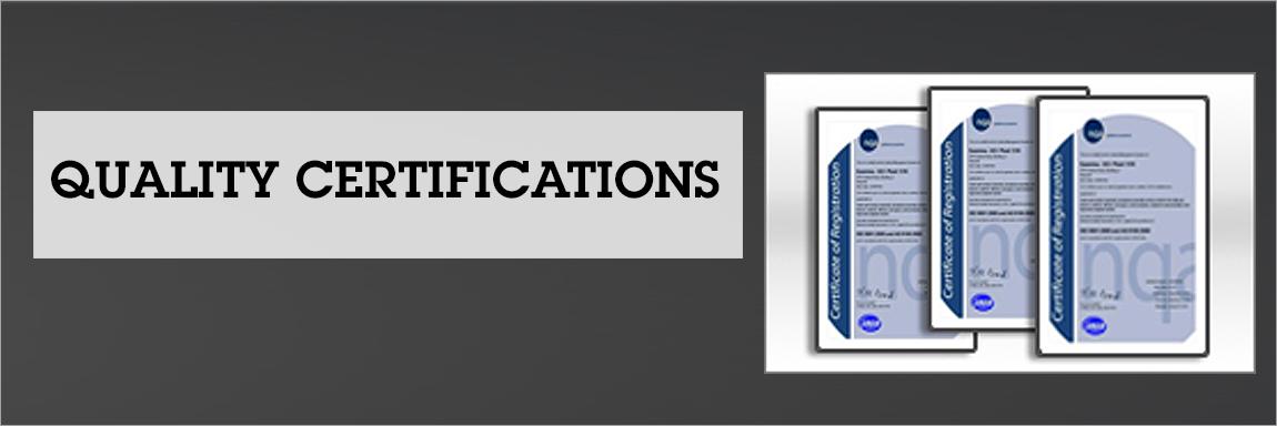 Quality Certifications Sanmina