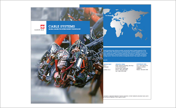 Sanmina Cable Brochure