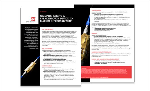 Optical RF Case Study