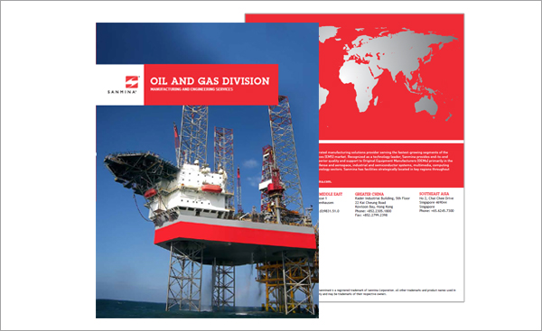 Sanmina OIL & GAS BROCHURE