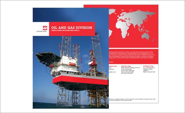 Sanmina OIL & GAS BROCHURE