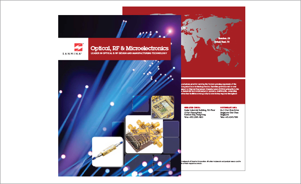 Sanmina Optical & RF Brochure